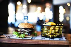 Win a Burger & Beer voucher for two people at Darling Brew Woodstock
