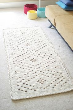 Modern Ideas for Crochet Designs, Latest Trends in Decorating 10 Free Crochet Home Decor Patterns - GleamItUpIDEAS IDEAS may stand for: Filet Crochet, Crochet Mignon, Crochet Gratis, Crochet Diy, Crochet Home Decor, Modern Crochet, Crochet Doilies, Crochet Rugs, Crochet Storage