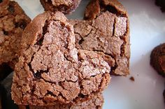 Mom's Brownies  1 1/4 cups butter  4 cups sugar  8 eggs  2 cups flour  1 1/4 cups cocoa powder  1 tsp. salt  2 tsp. vanilla  walnuts are optional  Cream butter and sugar. Add the remaining ingredients in order. Bake in a greased 13 x 18″ pan (cookie sheet) at 325º for 40-45 minutes.