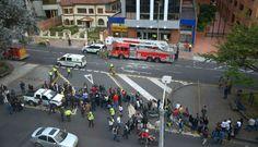 Colombia: 10 heridos tras explosiones en zona financiera e industrial de Bogotá