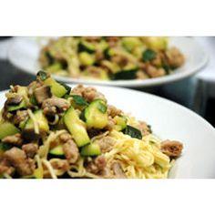 Pork and Zucchini Pasta Sauce @ allrecipes.com.au