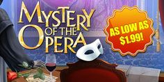 Sale one week only the stunning adventure mystery of the opera