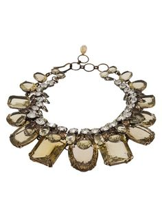 IRADJ MOINI Double Layer Statement Necklace