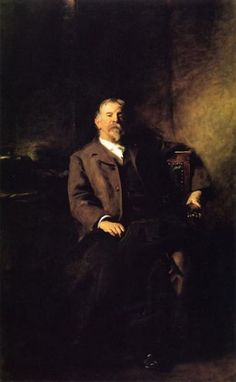 My very favorite John Singer Sargent painting - Henry Lee Higginson. It tells an amazing story without words and holds such dignity and grace.