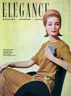 Tania Mallet, cover Elegance, Oct. 1963