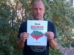 This is awesome! The Save Rosia Montana movement is becoming an international movement of concerned citizens standing in solidarity with the people of Romania (an increasing number of actors, politicians, environmentalists and concerned citizens).