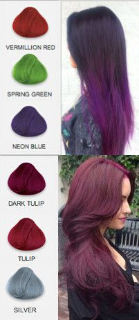 Which hair color you want in 2015? Purple is the trend color this year, dont miss it!