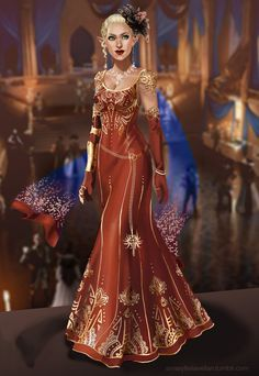 Swoon worthy lavellan why couldn't we have a dress for Halamshiral??? My Solona would have rocked this dress
