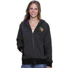 47 Brand Minnesota Vikings Womens Purple McKenzie Tassel Pom Knit ...