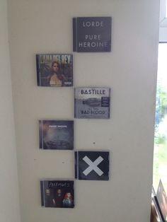 Lorde, Lana Del Ray, Bastille, Imagine Dragons, Ed Sheeran, and Paramore