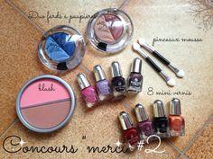 Jusqu'au 23/02 !!! 1 Lot 100 % Make-Up dont 8 minis vernis !!!