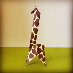 Origami Giraffe by Tania Ishii