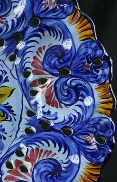 Traditional Portuguese Ceramic Plate.. often displayed on walls
