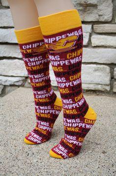 Central Michigan Chippewas Socks