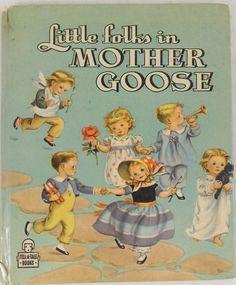 'Little Folks Mother Goose' (Whitman 1946)  | eBay