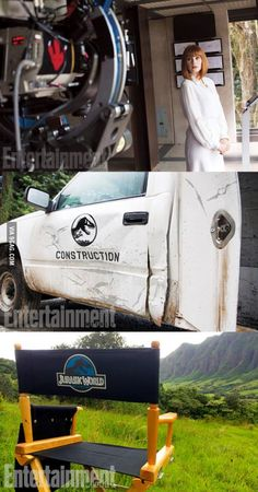 Jurassic World has begun filming. Here are the first images...