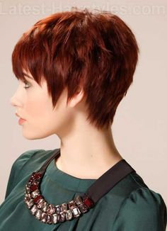 20 Best Red Pixie Hair | http://www.short-haircut.com/20-best-red-pixie-hair.html