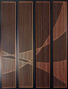 Main Gallery of Laser Cut Installations Lightwave Laser Main Gallery of Laser Cut Installations Lightwave Laser Patrick Herzberg patrickherzberg surfaces Laser cut timber doors Intricately cut and nbsp hellip Divider screen design Screen Design, Door Design, House Design, Nail Design, Design Art, Partition Screen, Partition Design, Divider Screen, Wood Partition