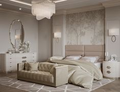 40 Transitional Bedrooms That Beautifully Bridge Modern And Traditional Perhaps one of the most difficult looks to master, the transitional design style is often defined by its smooth combination of classic and contemporar. Modern Luxury Bedroom, Luxury Bedroom Design, Master Bedroom Interior, Modern Master Bedroom, Home Room Design, Master Bedroom Design, Luxurious Bedrooms, Home Interior, Home Decor Bedroom