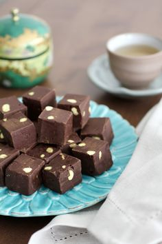 Fudge de chocolate.
