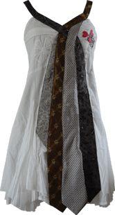 cute tie dress/shirt!