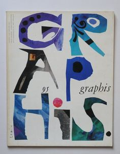 Jan Lenica / Cover for Graphis 95 Typography Prints, Typography Poster, Graphic Design Typography, Graphic Design Illustration, Graphic Art, Design Graphique, Art Graphique, Gfx Design, Design Art