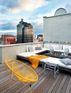 Terrazze sugli attici: 7 idee in altezza #hogarhabitissimo