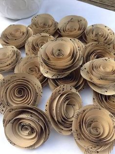 paper flowers wedding - Google Search
