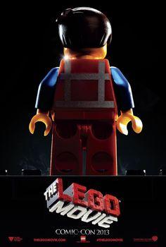 Nuevo poster para la comic con de la película de Lego, disfrútala en cines en el 2014