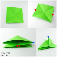Origami Frogs Tutorial – Origami for Kids