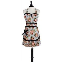 $32.99 Cottage Rose Lace Convertible Apron... Who knew these things were convertible?  I didn't!