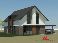 AL architectuur | Nieuwbouw | vrijstaande woning | Woonhuis | Nieuwbouwwoning Epse - by AL architecten