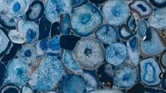 Can't get enough agate, this blue is so captivating
