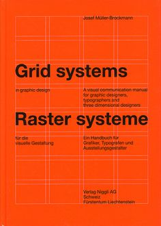 SWISS STYLE - Josef Muller Brockmann + grid system