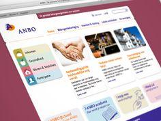 Corporate website ANBO    Meer weten over dit project? Kijk op:  http://www.nilsson.nl/portfolio/2012/corporate-website-anbo
