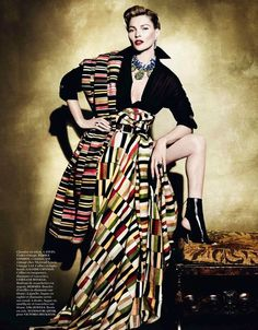 Perú in the April 2013 Vogue Paris magazine by Peruvian photographer, Mario Testino