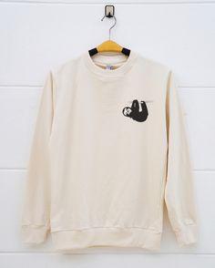 Pocket shirts Sloth tshirts . animal funny tshirt sloth shirts tumblr clothing pullover sweatshirt sweater women sweatshirt men sweatshirt by monopoko on Etsy https://www.etsy.com/listing/477310995/pocket-shirts-sloth-tshirts-animal-funny
