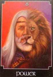 Power is a card connected to finding inner strength Power, is the card drawn today from The Psychic Tarot Oracle Deck by John Holland. It is the 8th card of the Major Arcana. This card is equivalen…