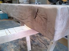 Natural finished characterfull oak beam