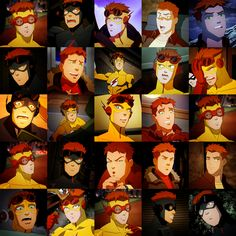 The Many Faces of Wally West God I can't believe what happened to him on YJ!