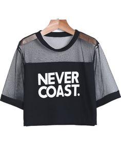 Never Coast Sheer Tee