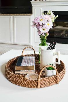 Coffee Table Makeover, Coffee Table Styling, Diy Coffee Table, Round Coffee Table, Decorating Coffee Tables, Coffee Coffee, Coffee Beans, Coffee Shops, Ninja Coffee
