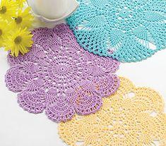 23 Free Pineapple Crochet Doily Patterns