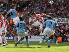 The visitors at the Britannia level, 16m summer signing Javi Garcia finds the net on his debut.