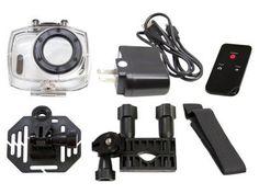 Câmera Filmadora Esportiva Full HD Vivitar - DVR787HD 12,1MP Conexão Mini USB c/ Caixa Estanque com as melhores condições você encontra no Magazine Vrshop. Confira!