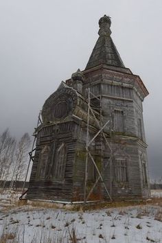 Russia's wooden churches
