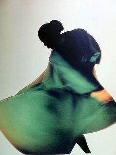 Naomi Campbell in Yohji Yamamoto by Nick Knight