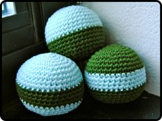 Reuben's Juggling Balls - pattern in the works from A Little Loopy