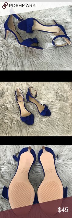 ‼️NWOT‼️ Ann Taylor - Cobalt Blue Ann Taylor - Cobalt Blue heels, say no more these gorgeous shoes have low heels for comfort! Never worn - new w/out box‼️ Ann Taylor Shoes Heels