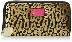 LUV BETSEY by Betsey Johnson Zip Around Wallet, Gold Leopard, One Size LUV BETSEY by Betsey Johnson http://www.amazon.com/dp/B00NXL68XQ/ref=cm_sw_r_pi_dp_0tSewb0HFGYHX